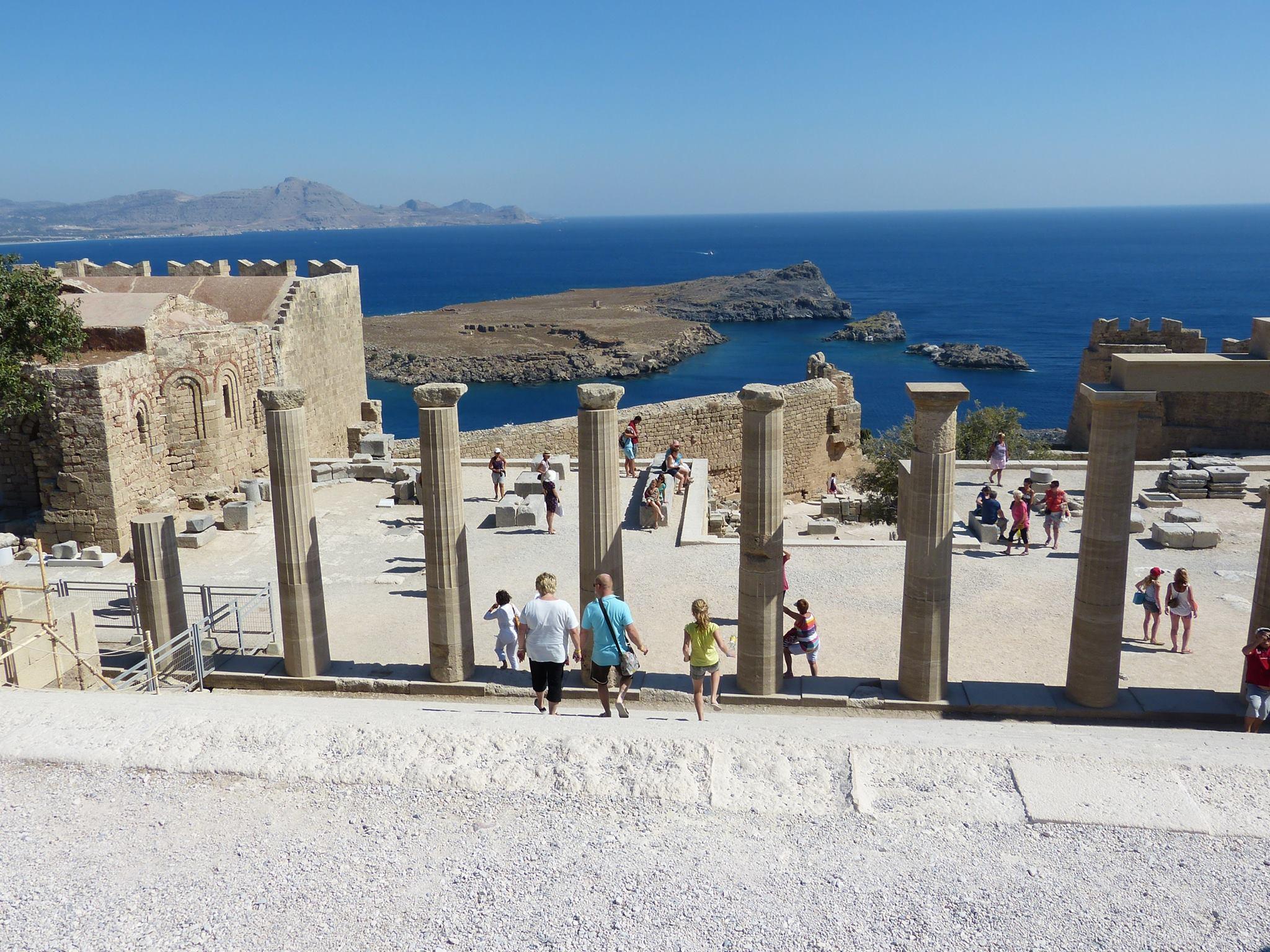 Lindos - akropolis