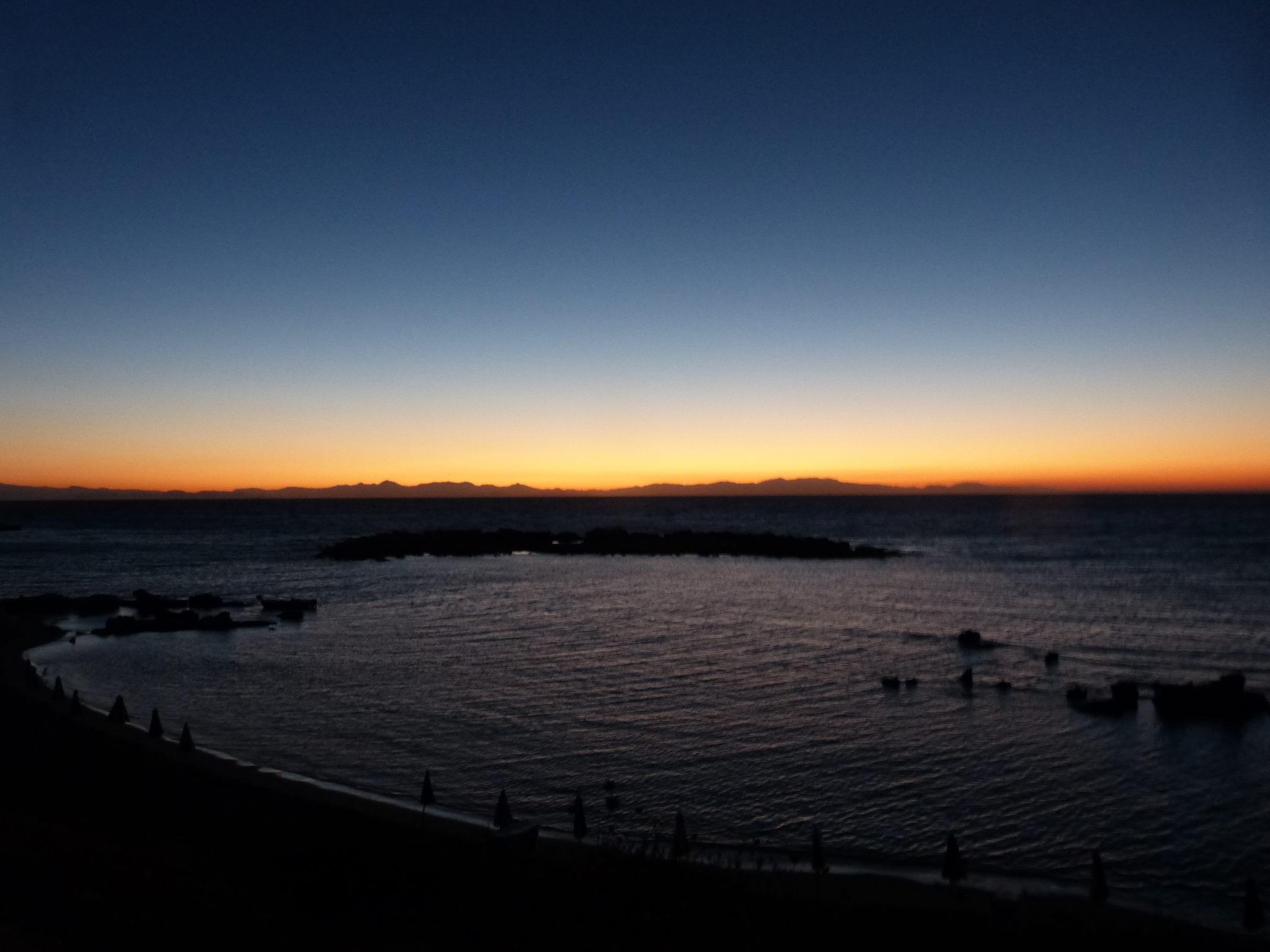 Napfelkelte a parton (Kalitheai öböl)