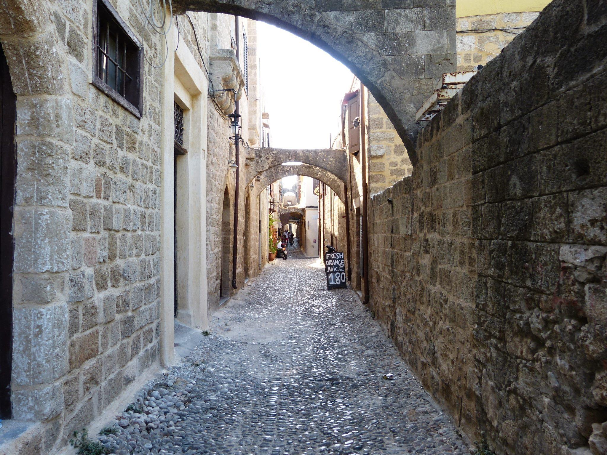 Rodosz város - óváros