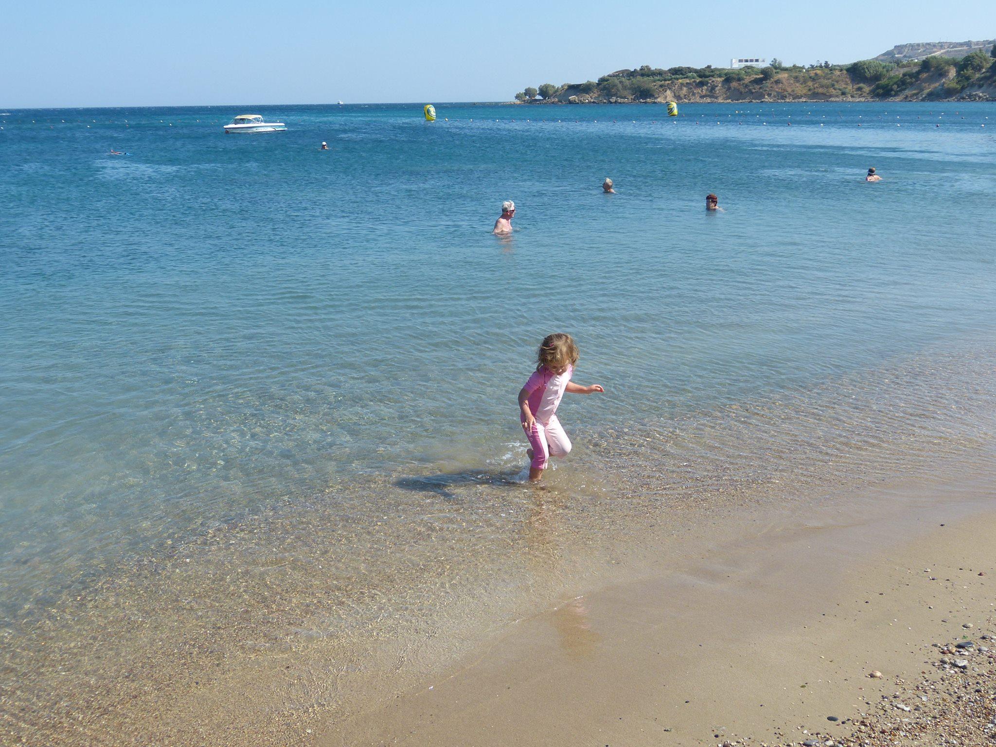 Strand a szálloda közelében