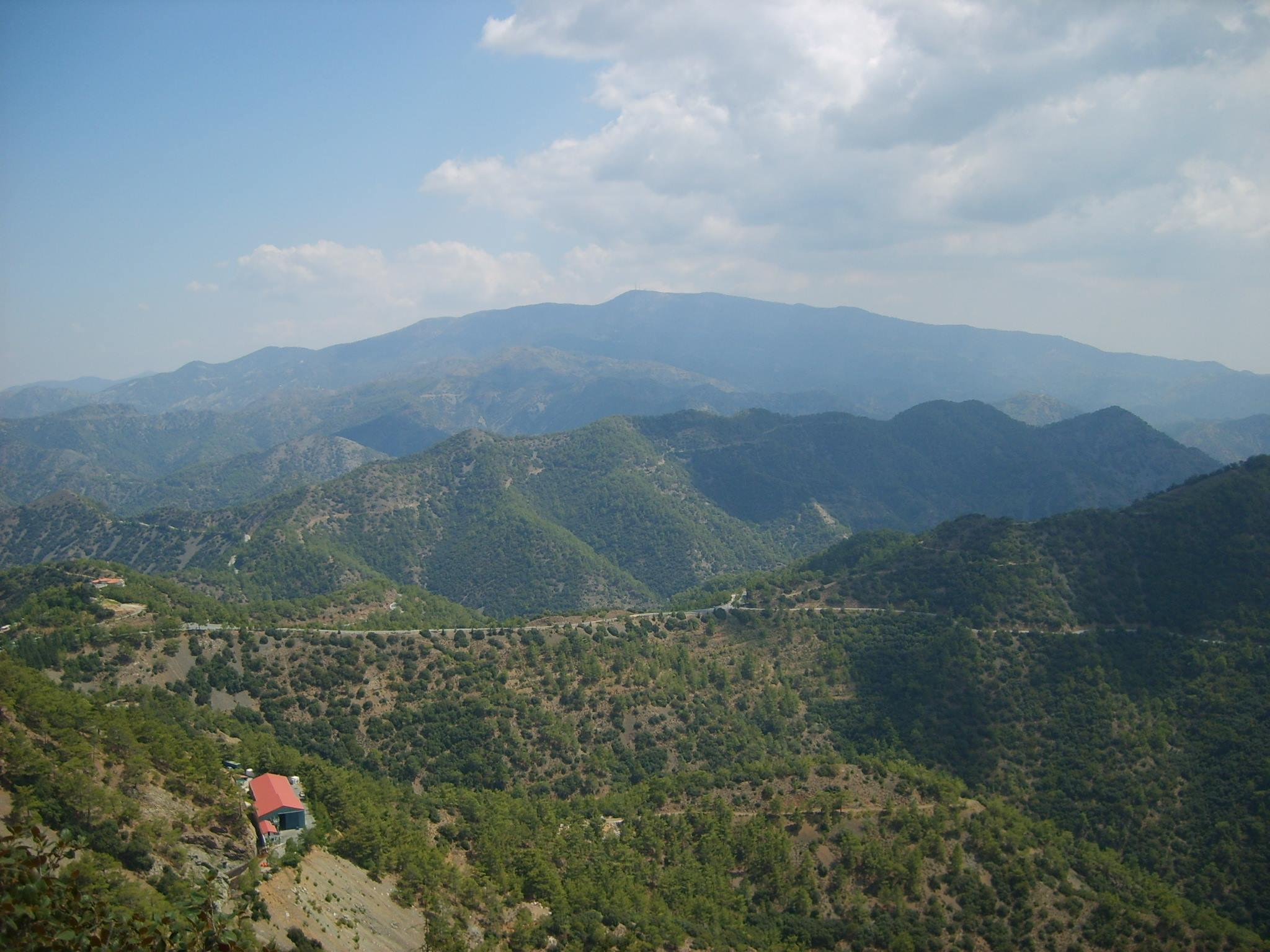 Troodos hegység - Ciprus