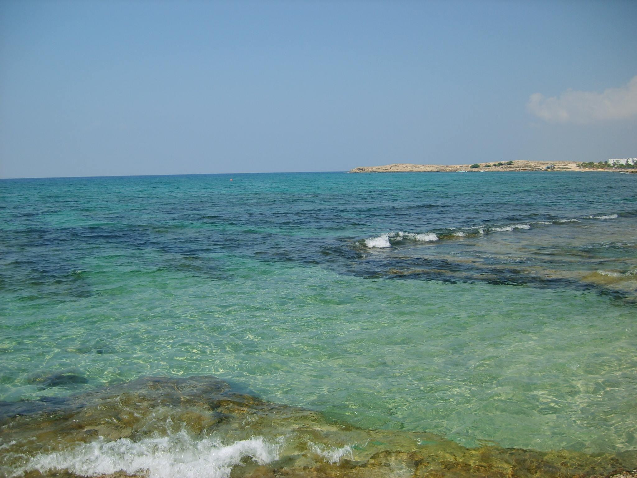 Agia Napa egyik strandszakasza