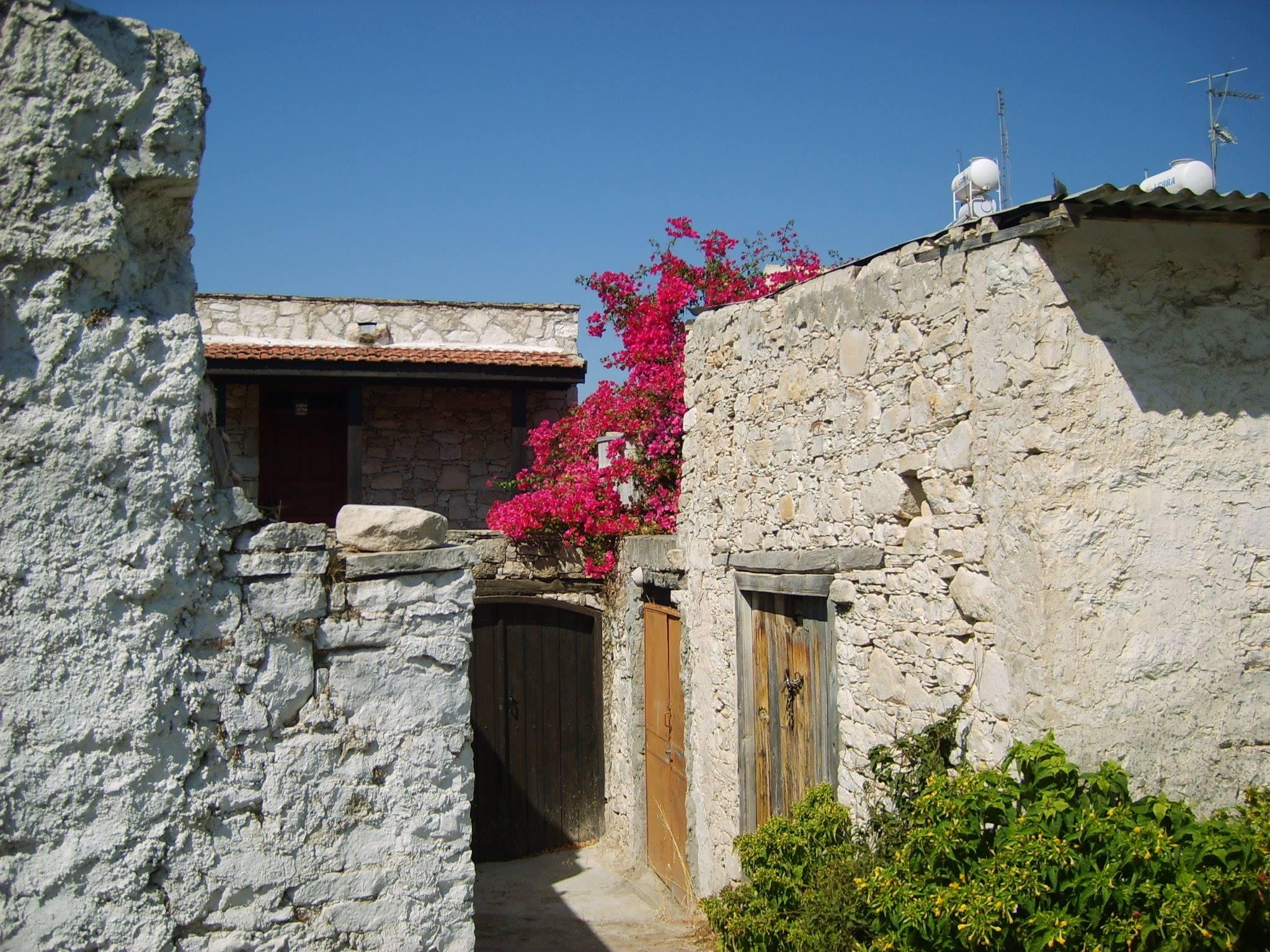 Lania - festői hegyi falu, Ciprus