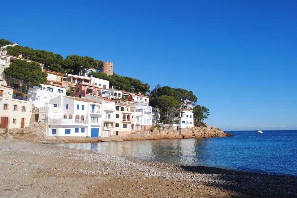 Girona tengerpart